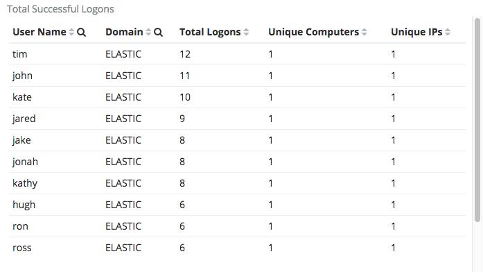 Successful Windows Logons